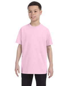Pale Pink Youth 6.1 oz. Tagless® T-Shirt