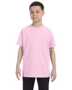 Pale Pink Youth 6.1 oz. Tagless® T-Shirt