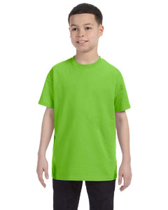 Lime Youth 6.1 oz. Tagless® T-Shirt