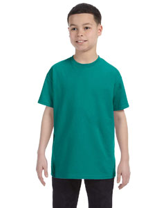 Jade Green Youth 6.1 oz. Tagless® T-Shirt