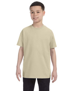 Sand Youth 6.1 oz. Tagless® T-Shirt