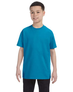 Teal Youth 6.1 oz. Tagless® T-Shirt