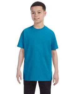 Teal Youth 6.1 oz. Tagless® T-Shirt