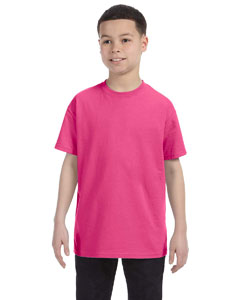 Wow Pink Youth 6.1 oz. Tagless® T-Shirt