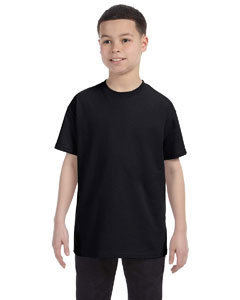 Black Youth 6.1 oz. Tagless® T-Shirt