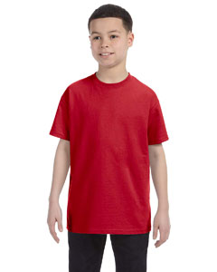 Deep Red Youth 6.1 oz. Tagless® T-Shirt