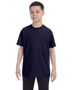 Navy Youth 6.1 oz. Tagless® T-Shirt