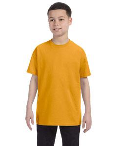Gold Youth 6.1 oz. Tagless® T-Shirt