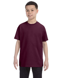 Maroon Youth 6.1 oz. Tagless® T-Shirt