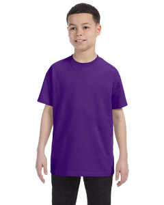 Purple Youth 6.1 oz. Tagless® T-Shirt