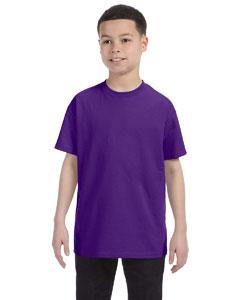 Purple Youth 6.1 oz. Tagless® T-Shirt