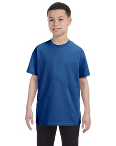 Deep Royal Youth 6.1 oz. Tagless® T-Shirt