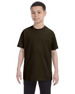 Dark Chocolate Youth 6.1 oz. Tagless® T-Shirt