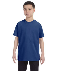 Twilight Blue Youth 6.1 oz. Tagless® T-Shirt
