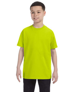 Safety Green Youth 6.1 oz. Tagless® T-Shirt