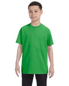 Shamrock Green Youth 6.1 oz. Tagless® T-Shirt