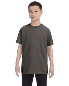 Smoke Gray Youth 6.1 oz. Tagless® T-Shirt