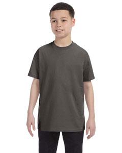 Smoke Gray Youth 6.1 oz. Tagless® T-Shirt