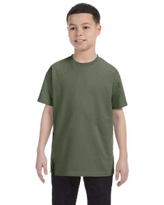 Fatigue Green Youth 6.1 oz. Tagless® T-Shirt
