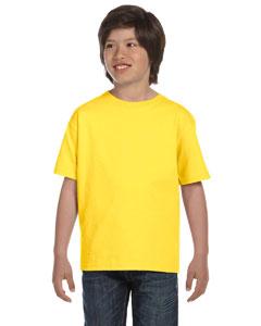 Yellow Youth 5.2 oz. ComfortSoft® Cotton T-Shirt