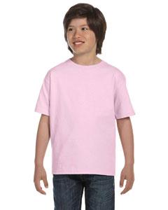 Pale Pink Youth 5.2 oz. ComfortSoft® Cotton T-Shirt