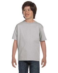 Light Steel Youth 5.2 oz. ComfortSoft® Cotton T-Shirt