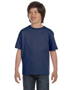 Deep Royal Youth 5.2 oz. ComfortSoft® Cotton T-Shirt