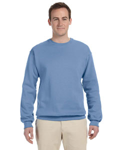 Light Blue 8 oz., 50/50 NuBlend® Fleece Crew