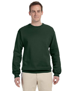 Forest Green 8 oz., 50/50 NuBlend® Fleece Crew