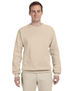 Sandstone 8 oz., 50/50 NuBlend® Fleece Crew