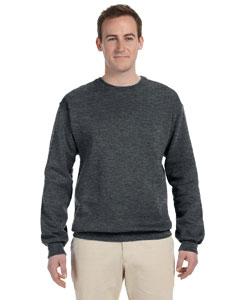 Charcoal Grey 8 oz., 50/50 NuBlend® Fleece Crew