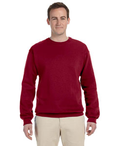 Cardinal 8 oz., 50/50 NuBlend® Fleece Crew