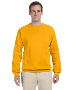 Gold 8 oz., 50/50 NuBlend® Fleece Crew