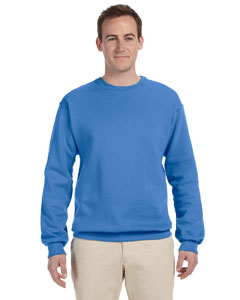 Columbia Blue 8 oz., 50/50 NuBlend® Fleece Crew