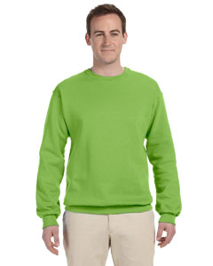 Kiwi 8 oz., 50/50 NuBlend® Fleece Crew