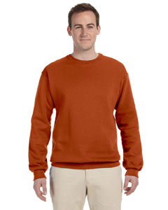 Texas Orange 8 oz., 50/50 NuBlend® Fleece Crew
