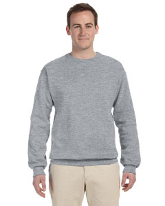 Athletic Heather 8 oz., 50/50 NuBlend® Fleece Crew