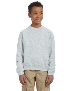 Ash Youth 8 oz., 50/50 NuBlend® Fleece Crew