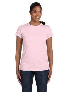 Pale Pink Women's 5.2 oz. ComfortSoft® Cotton T-Shirt