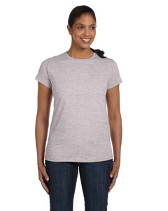 Light Steel Women's 5.2 oz. ComfortSoft® Cotton T-Shirt