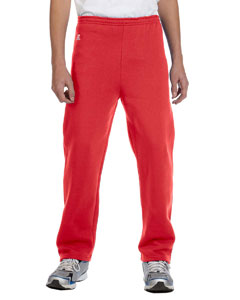 True Red Youth Dri-Power® Fleece Open-Bottom Pant