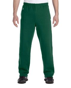 Dark Green Dri-Power® Open-Bottom Fleece Pocket Pant