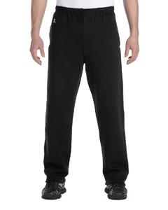 Black Dri-Power® Open-Bottom Fleece Pocket Pant