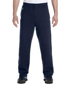 J Navy Dri-Power® Open-Bottom Fleece Pocket Pant