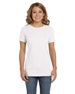 White Women's Jersey Short-Sleeve T-Shirt