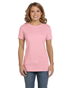 Pink Women's Jersey Short-Sleeve T-Shirt