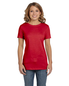 Red Women's Jersey Short-Sleeve T-Shirt