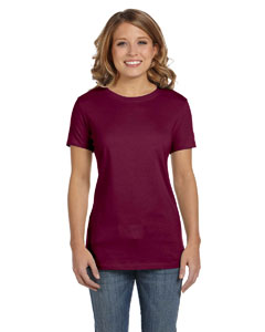 Maroon Women's Jersey Short-Sleeve T-Shirt