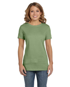 Moss Green Women's Jersey Short-Sleeve T-Shirt