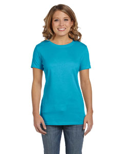 Turquoise Women's Jersey Short-Sleeve T-Shirt